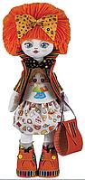 """Набор для шитья игрушки Текстильная кукла """"Подружка"""" К1011"""