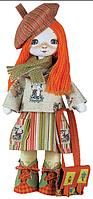 """Набор для шитья игрушки Текстильная кукла  """"Путешественница"""" К1013"""