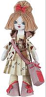 """Набор для шитья игрушки Текстильная кукла """"Пианистка"""" К1014"""