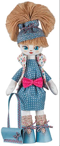 """Набор для шитья игрушки Текстильная кукла """"Умница"""" К1015 - Elite Home в Херсонской области"""