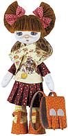 """Набор для шитья игрушки Текстильная кукла  """"Первоклассница"""" К1016"""