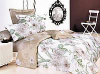 Комплект постільної білизни Le Vele Basuri Spring series сатин 220-200 см, фото 1