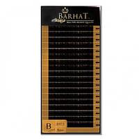 Ресницы для наращивания премиум класс Barhat изгиб B
