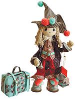 """Набор для шитья игрушки Текстильная каркасная кукла """"Джокер"""" К1019"""