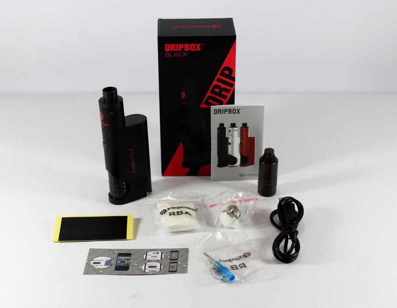 KangerTech DripBox + жидкость в подарок