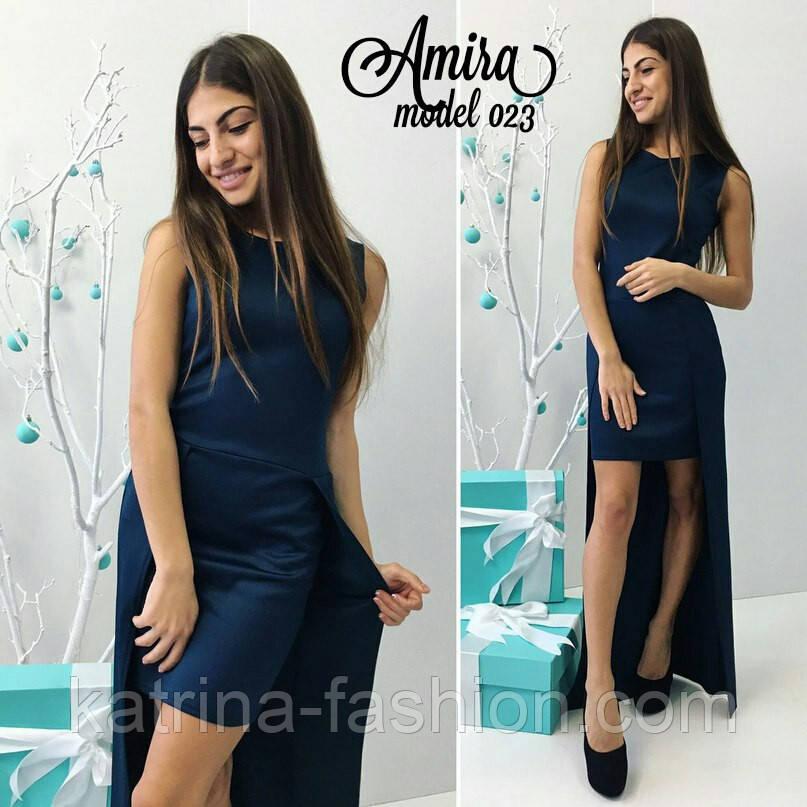 Женское стильное платье (3 цвета)