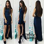 Женское стильное платье (3 цвета), фото 6