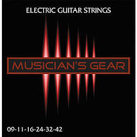 Струны Musician's Gear Electric 9 Nickel Plated Steel (009-042) для электрогитары