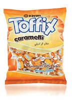 Жевательные конфеты Toffix со вкусом карамели 1000 гр (Elvan)