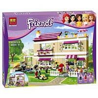 Детский конструктор Bela серия Friends / Подружки 10164 (Дом Оливии)