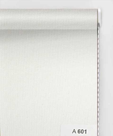 А 601 белый 70 см, высота до 1,60 м, Тканевая ролета открытого типа