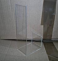 Подставка акриловая под обувь с каблуком