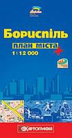 Карта Борисполя