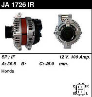 Генератор /100A / Honda Accord 2.0-2.4 03-