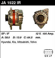 Генератор /100A / Hyundai  Sonata III, Mitsubishi Carisma, Galant, Spase Wagon, 1,8-2,0 97-