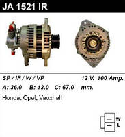 Генератор /100A / Opel Astra G, Combo, Corsa, Civic 1,7CDTI