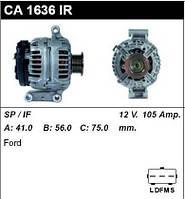 Генератор /105A/ Ford Transit 00- 2,0DI