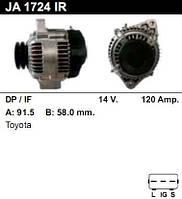 Генератор /120A/ Toyota Land Cruiser 4.2 TD 100