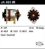 Генератор /70A/ Opel Combo, Corsa 1,5-1,7D/TD