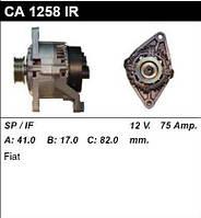 Генератор /75A/ Fiat Ducato 94- 1,9D/TD