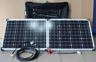 Солнечная панель Раскладная 80W 18V 670*450*35*35 Solar board 2F FOLD ZFV