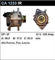 Генератор восст. /100A/ Fiat Coupe, Tempra, Dedra, Lancia Delta2 1,8-2,0