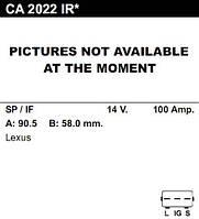 Генератор восст. /100A/ Lexus IS200 99-..