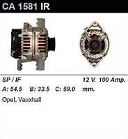Генератор восст. /100A/ Opel Astra G 1,4-1,6-1,8-2,0 16V Omega B 2,2 16V