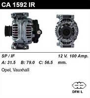 Генератор восст. /100A/ Opel Astra, Vectra 2,2