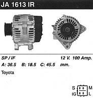 Генератор восст. /100A/ Toyota Avensis, RAV-4, Previa 2.0-2.4 00-06