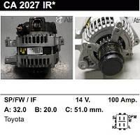 Генератор восст. /100A/ Toyota Auris 1,6 VVTi, Yaris 1,3-1,8 VVTi