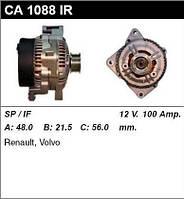 Генератор восст. /100A/ Volvo V40-V70, S40, 850 1,8-2,0-2,0-2,5