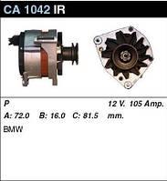 Генератор восст. /105A/ BMW E36 1,6-1,8i E34 1,8