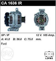 Генератор восст. /105A/ Ford Transit 00- 2,0DI