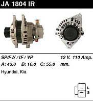 Генератор восст. /110A/ Hyundai H1, Porter, Kia Sorento 2,5 CRDi 02-