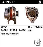 Генератор восст. /110A/ Hyundai Sonata II, 3000GT, Sigma 3,0