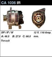Генератор восст. /110A/ Renault Megane1, Laguna 1,9D/DTI 1,8-2,0i