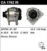 Генератор восст. /110A/ Renault Megane2, Scenic2 1,4-1,6 16V 1,5DCI