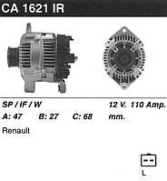 Генератор восст. /110А/ Renault Kangoo, Laguna, Megane 1.9DCi