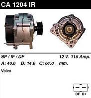"""Генератор восст. /115A/ Volvo C70, V70, S70 2,0-2,3-2,4-2,5i 95-00"""""""