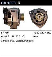 Генератор восст. /120A/ Citroen Berlingo, Fiat Scudo 1,9D (D9B)