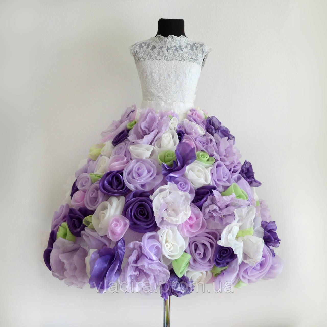 Платья королевы цветов