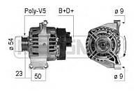 Генератор восст. /120A/ Fiat Doblo 1.4 10- Punto 1.2  -12
