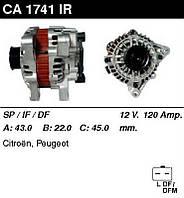 Генератор восст. /120A/ Citroen C4, C5, Berlingo 08-, Peugeot 307, 407, 207 1,4-1,6-1,8