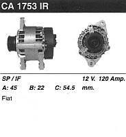 Генератор восст. /120A/ Fiat Stilo, Lancia Lubra 1.8 99-