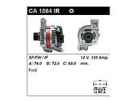 Генератор восст. /120A/ Ford Focus II 1,8 - 2,0