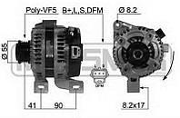 Генератор восст. /120A/ Ford Focus ST 2,5, Volvo S40 2,4