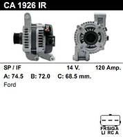 Генератор восст. /120A/ Ford Focus, C-Max 1.8-2.0 05-