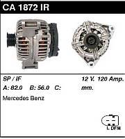 Генератор восст. /120A/ Mercedes W203, M W163 2,6-3,2-3,7