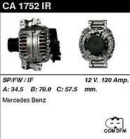 Генератор восст. /120A/ Mercedes W203, W211 1,8-2,0-2,3
